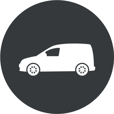 Oklejanie samochodów dostawczych małych