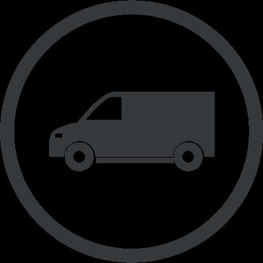 Oklejanie samochodów dostawczych średnich